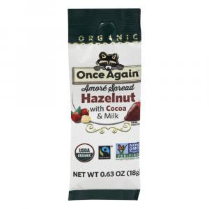 Once Again Organic Chocolate Hazelnut Squeeze