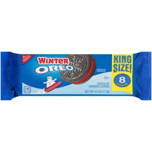 Nabisco Winter Oreo Cookie King Size
