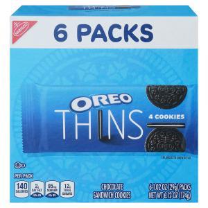 Nabisco Oreo Thin 4 Cookies Single Serve Pack