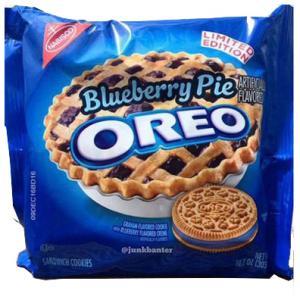 Oreo Blueberry Pie Cookies