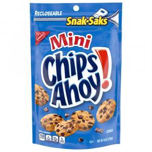 Nabisco Mini Chips Ahoy! Cookies Snak Sak