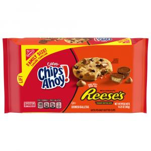 Nabisco Chips Ahoy! Chewy Reese's Family Size Cookies