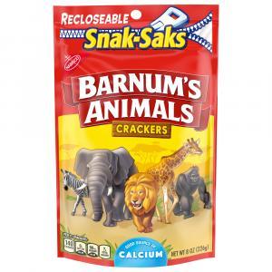 Nabisco Barnum Animal Crackers Snak Sak
