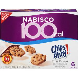Nabisco 100 Calorie Pack Chips Ahoy! Cookies