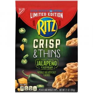Ritz Crisp & Thins Limited Edition Jalapeno Cheddar