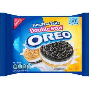 Nabisco Oreo Double Stuf Heads Or Tails Cookies