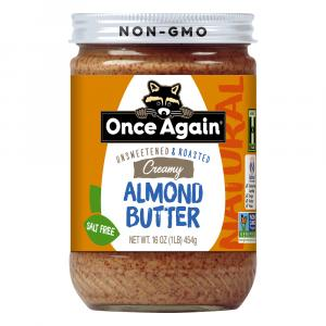 Once Again Creamy Almond Butter