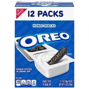 Nabisco Handy-Snacks Oreo Cookie Sticks 'N Creme Dip
