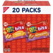 Nabisco Ritz Bits Cheese & Peanut Butter