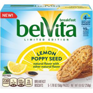 Nabisco Belvita Lemon Poppy Seed