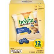 BelVita Snack Packs Blueberry Bite Size Snacks