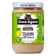 Once Again Organic Unsweetened Creamy Tahini with Lemon