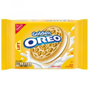 Nabisco Golden Oreo Sandwich Cookies