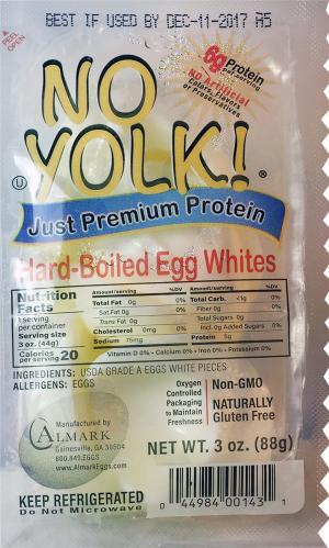 No Yolk! Egg White Pieces