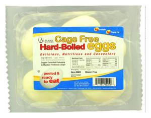 Cage Free Hard Boiled Eggs