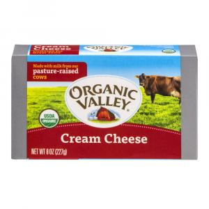 Organic Valley Pasteurized Cream Cheese
