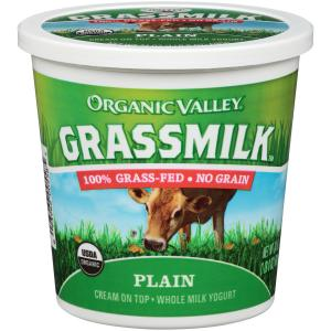 Organic Valley Grassmilk Plain Whole Milk Yogurt