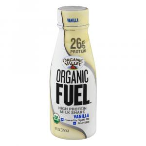 Organic Valley Fuel High Protein Milk Shake Vanilla