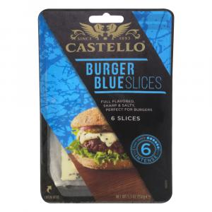 Castello Burger Blue Slices