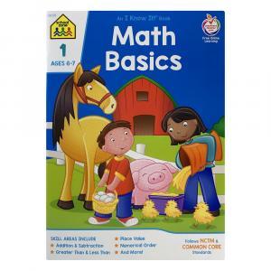 School Zone Math Basics 1 Workbook