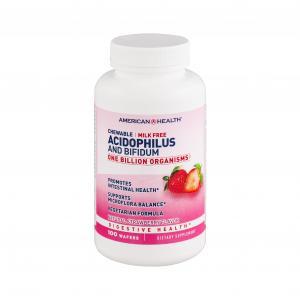 American Health Chewable Acidophilus Tablets