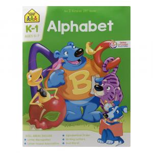 School Zone Alphabet K-1 Workbook