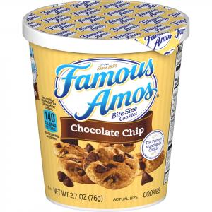 Famous Amos Chocolate Chip On The Go Cup