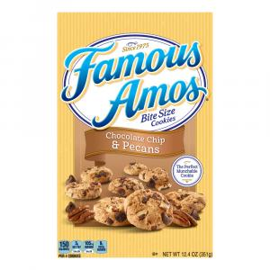 Famous Amos Bite Size Chocolate Chip & Pecan Cookies