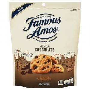 Famous Amos Belgian Chocolate Bite Size Cookies