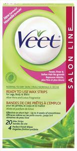 Veet Normal To Dry Skin Wax Strips